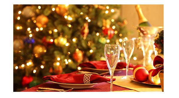 taller de cocina comida o cena de navidad